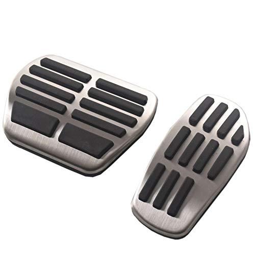 ANBXMWL Il pedale per auto in acciaio inossidabile accessori per auto pedale del freno pedale dell'acceleratore, per Renault Clio duster scenic 3 Talisman megane Espace