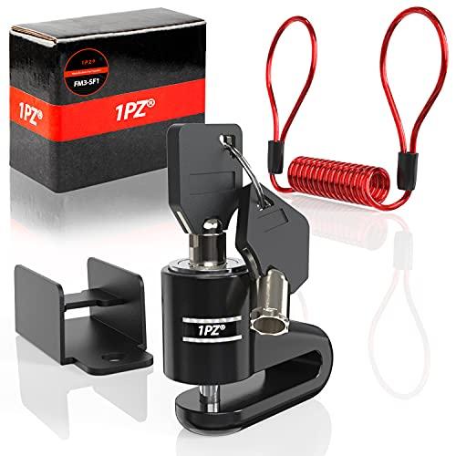 1PZ FM3-SF1 - Cerradura de freno de disco de repuesto para Xiaomi M365 / Pro Patinete eléctrico – Candado de freno de disco de alambre de acero, accesorio antirrobos de seguridad para patinete