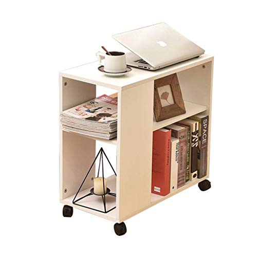 ADSE Tea Cart Living Room Removable Side Cabinet Sofa Armrest Cabinet Corner Storage Bookcase Storage Cabinet Furniture Tables