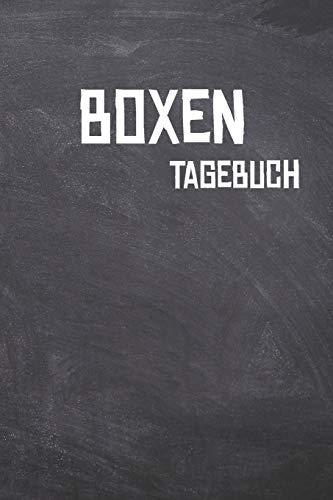 Boxen Tagebuch: Das Ultimative Trainings Journal für den Hobby oder Profi Boxer. Im praktischen 6