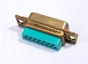 ITT CANNON DAMA15P CONNECTOR, D SUB, PLUG, 15POS, CRIMP