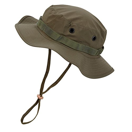 Black Snake Wasserdichter Boonie Hat Outdoor Hut L Oliv