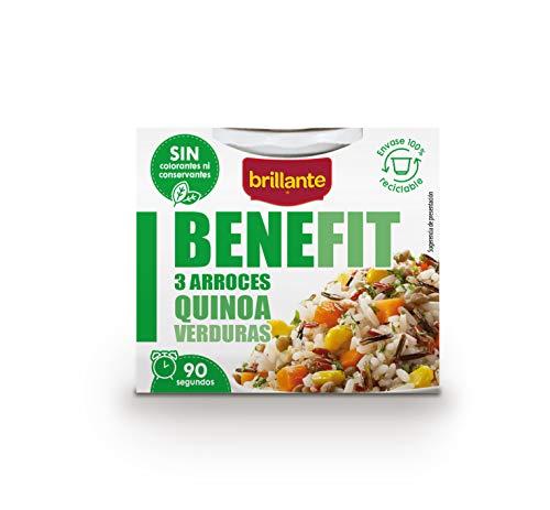 Brillante Benefit 3 Arroces Quinoa Verduras 250 gr