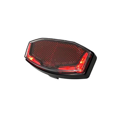 BOORX Elektrofahrradrücklichter Spanninga V610012A Fahrrad Rücklicht Aufleuchten Rot
