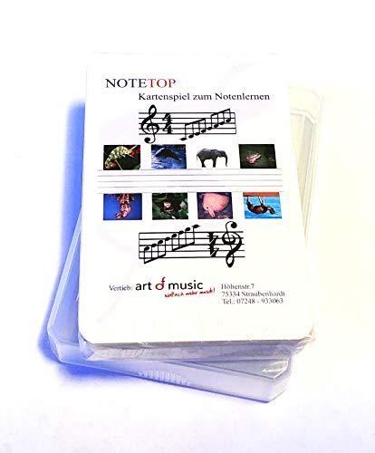 Note-TOP das originelle Kartenspiel zum Noten Lernen für jung und alt - für 2-4 Spieler - inkl. Spielanleitung (Noten/Sheet Music)