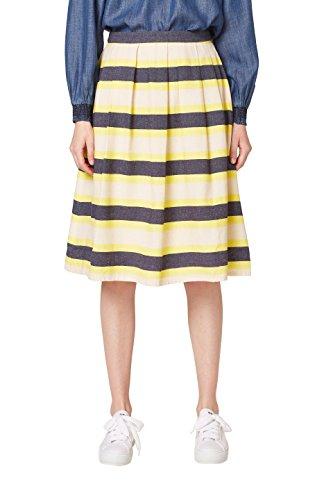 Falda amarilla estampada, Amarillo (Amarillo arena)