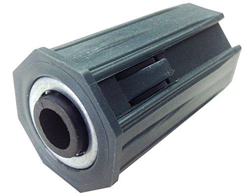 IUNCI 030.002 Cápsula de PVC para persiana con rodamiento incorporado para eje de 40 octogonal.