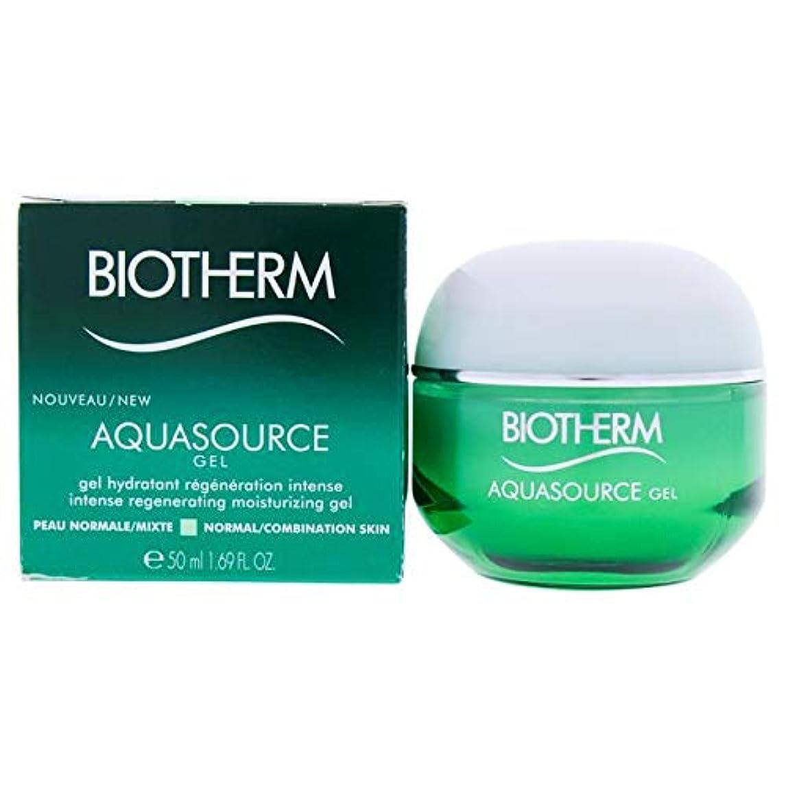 強要溝移住するビオテルム Aquasource Gel Intense Regenerating Moisturizing Gel - For Normal/Combination Skin 50ml/1.69oz並行輸入品