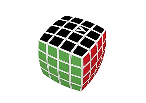 GIGAMIC- V-Cube 4x4 Bombé, Color Blanco