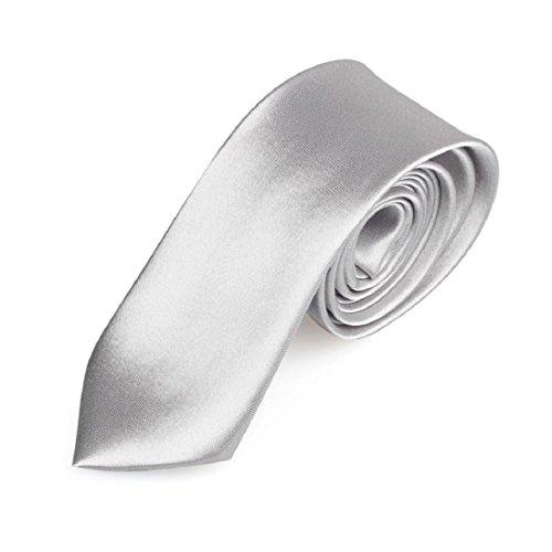 """amison Krawatte, Luxus Casual Slim Männer Tiefebene Solid magrissime Hals Partei Hochzeit Krawatte, Herren, B, 145 cm/57,09\"""""""