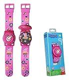 Kids Licensing |Reloj Digital para Niños | Reloj Peppa Pig |Display con Iluminación|Reloj Infantil...