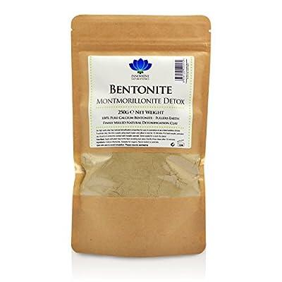 Bentonite Clay - 250g Packet - Pure Calcium Bentonite Detox