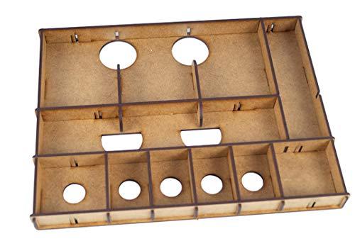 docsmagic.de Organizer Insert for Gloomhaven Forgotten Circles Expansion Box - Encarte