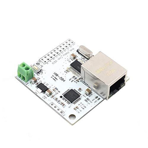 Odoukey Control de relé Web, módulo de relé, Panel de Control, Panel de Control del módulo de relé WiFi 8 ENC28J60 W5100