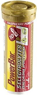 POWERBAR 5 elektrolyter hallon granatäpple 42 g duschtabletter