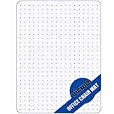 Vicwe Carpet Chair Mat Non Breakable Polycarbonate,Transparent Thick and Sturdy Highly Premium Quality 36 X 48 Rectangle Floor Mats for Low and Medium Pile Carpets,Shipped Flat