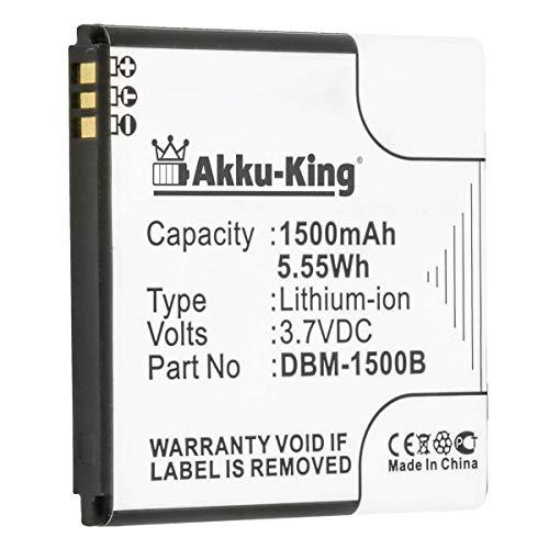 Akku-King Akku kompatibel mit Doro DBM-1500B - Li-Ion 1500mAh - für Doro Liberto 820 Mini