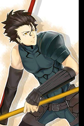 Composition Notebook: Limited Edition - Diarmuid ua Duibhne Lancer, Fate/Zero Anime Series Fan's Lined Notepad | Blank Ruled Journal to Write Notes: Daily Writing Diary