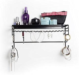 Mango Steam Meissa Jewelry & Accessory Storage Rack Organizer Wall-Mounted Shelf for Earrings, Bracelets, Necklaces, Hair ...
