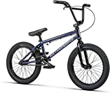 Wethepeople BMX Curse - Bicicleta BMX (18''), color morado y azul