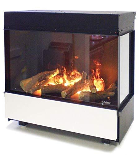 FABER 3Step Indoor Built-in Fireplace Black–Kamin (763mm, 351mm, 749mm, 30kg, 862.2mm, 396.6mm)