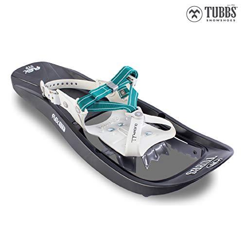 Tubbs Women's Flex STP Trail Walking Snowshoes, Size 22, Black/Teal