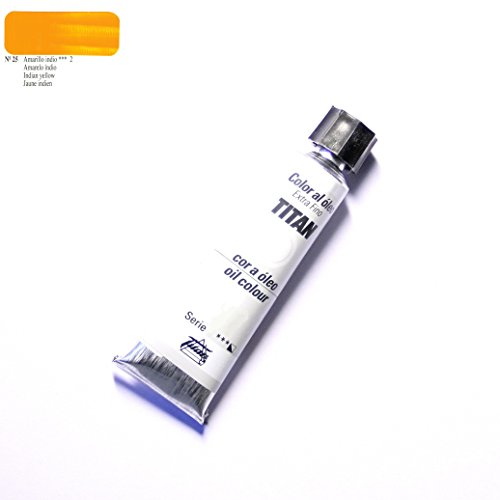 ÓLEO AMARILLO INDIO TITAN Extrafino 10 - 60ml. Nº 25