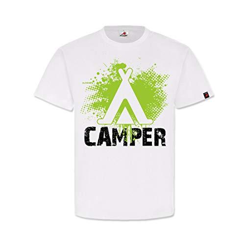 Camper Tent Camping Bushcraft Tent vakantie Outdoor T-shirt #32157