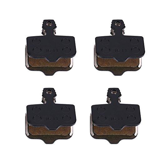 VGEBY Scheibenbremsbeläge mit Federn Semi-Harz Bremsbeläge für Avid Elixir 8 Stück