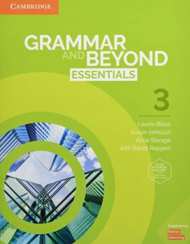 Grammar and Beyond Essentials Sb With Online Wb - Level 3