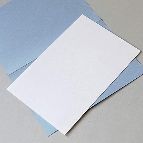 100 naturweiße Einlegeblätter 14,5 x 10,1 cm, Munken Lynx 90 g/qm (für Klappkarten DIN A6)