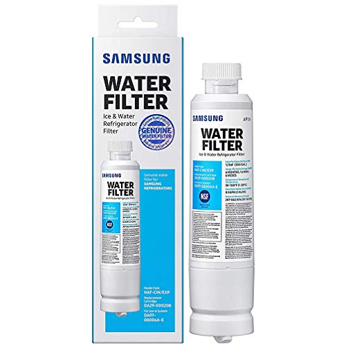 Sаmsung Electronics DA29-00020B Refrigerator Water Filter Replacement Compatible with Samsung DA29-00020A, HAF-CIN/EXP, 46-9101. Chlorine, odor, particles Reducing Refrigerator Water Filter,1 Pack