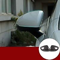 カーボンファイバーカーボンファイバー製外部ミラーカバートリムに適していますメルセデスベンツAクラスW177 V177 A180 A200 2019 2020