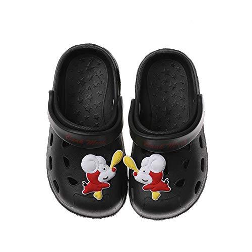 QXbecky Zapatillas para niños Dibujos Animados de Interior Lindos Zapatos de Agujero Inferior Suave Sandalias y Zapatillas Antideslizantes Verano niños y niñas