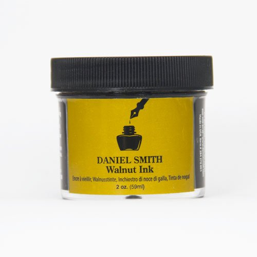 DANIEL SMITH 2 Fluid Ounces Walnut Ink, Bottle