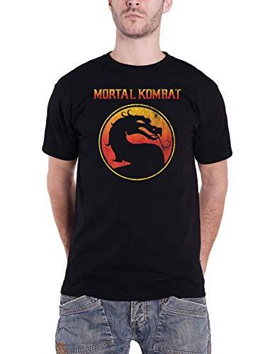 Mortal Kombat Logo T-Shirt M