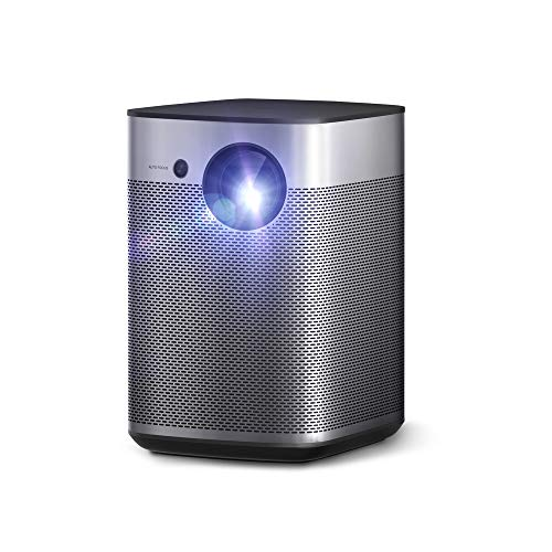 Xgimi Halo True 1080p Portable Mini Projector, Android TV 9.0 5000+ Native Apps, Harman / Kardon Speaker, 800 ANSI, Outdoor Projector with WiFi Bluetooth
