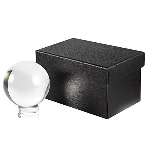 Siumir K9 Bola de Cristal Bola de Vidrio Transparente 80 mm Bola...