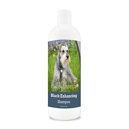 Healthy Breeds Miniature Schnauzer Black Enhancing Shampoo 8 oz