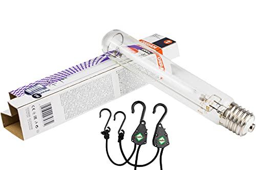 Osram Leuchtmittel 400 Watt Natriumdampflampe – Blüte NDL 400w Pflanzenlampe Beleuchtung Glühbirne