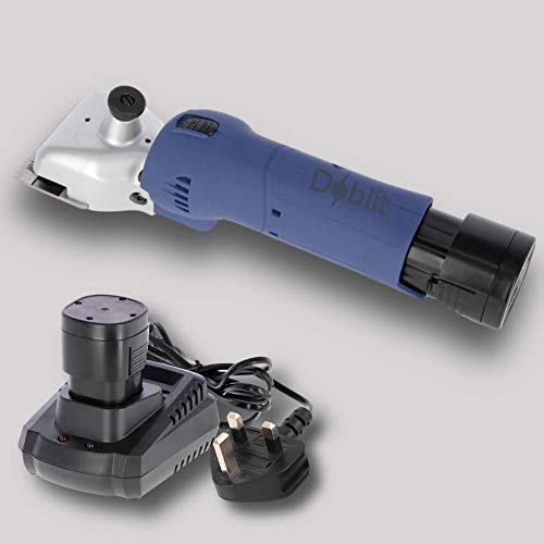 Doblit Clipster Cattle Clippers 2Ah Cordless 21t Cutter 23t Comb Supplied...