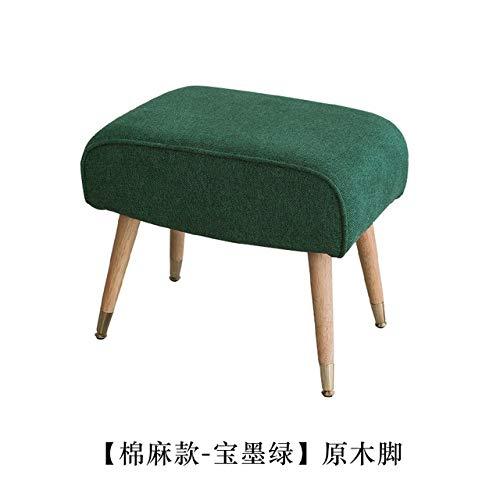 LKU sofakruk Ultralicht Scandinavisch retro voetenbord kinderen kinderstoel woonkamer kleine salontafelsofa, 8
