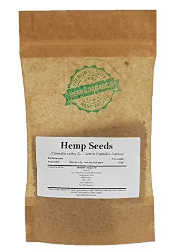 Hanfsamen / Cannabis Sativa L / Hemp Seeds # Herba Organica # Echte Hanf, Gewöhnliche Hanf (100g)