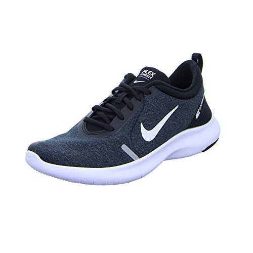 Nike Men's Flex Experience Run 8 Shoe, Black/White-Cool Grey-Reflective Silver, 7 Regular US