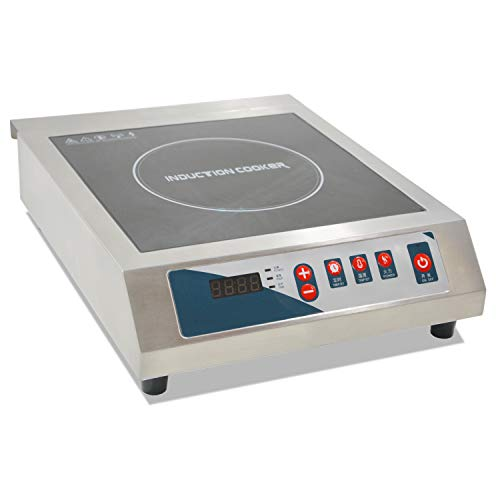 Buy Bargain Professional Portable Induction Cooktop, 3500W Countertop Induction Cooker with Digital ...