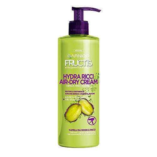 Fructis Style Hydra Ricci Air-Dry Cream Trattamento senza Risciaquo per Capelli da Mossi a...