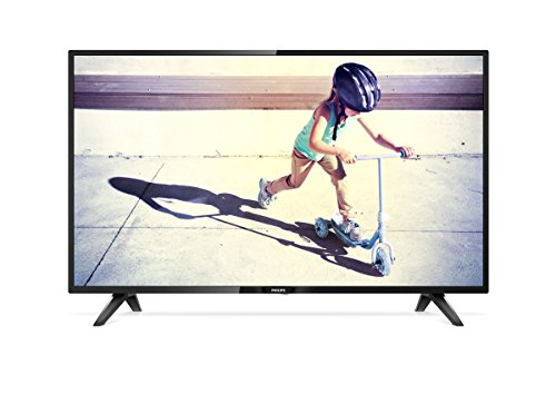 Philips 32PHT4112/05 32-Inch HD Ready LED TV with Freeview HD - Black (2017 Model) [Old Version]