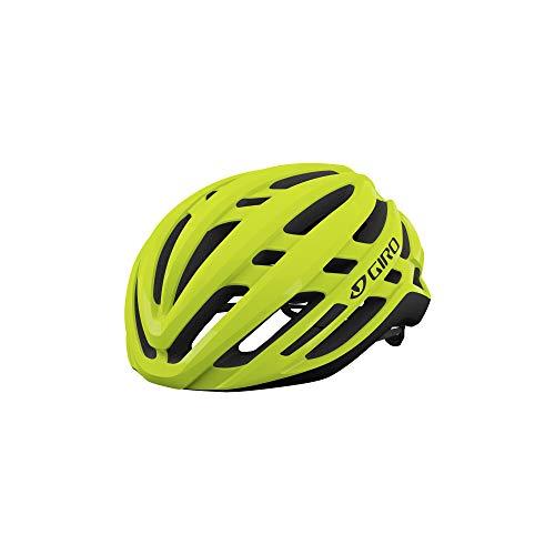 Giro Agilis MIPS Mens Road Cycling Helmet - Medium (55-59 cm), Highlight Yellow (2021)