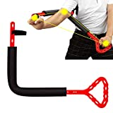 hadgethey Golf Swing Training Aid, Golf Posture Correction Improving Gesture Forming The Correct Muscle Memory, Golf Wrist Swing Trainer Accessorie (Red)