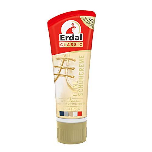 75ml Erdal Classic Feine Schuhcreme Farblos mit Pflegenden Ölen, pflegt, schützt & frischt die Farbe auf, 1er Pack (1x 75ml)